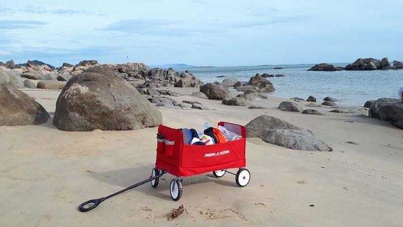 Xe Keo Fold Wagon 3 Trong 1 Radio Flyers (5)