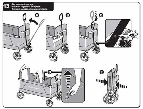 Xe Keo Fold Wagon 3 Trong 1 Radio Flyers (6)