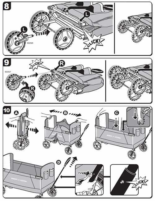 Xe Keo Fold Wagon 3 Trong 1 Radio Flyers (8)